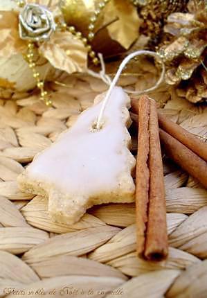 recette Petits Sablés de Noël à la Cannelle & Glaçage au Sucre Glace