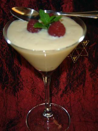 recette Petite crème légère au soja et vanille