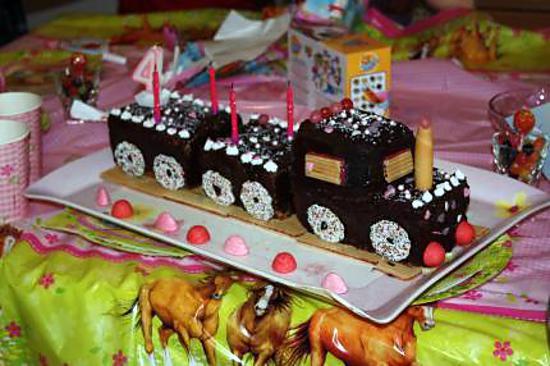 Turbo Recette de Gateau d'anniversaire locomotive 2 GV95