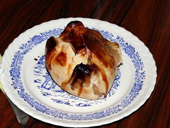 recette Bourdelots aux pommes