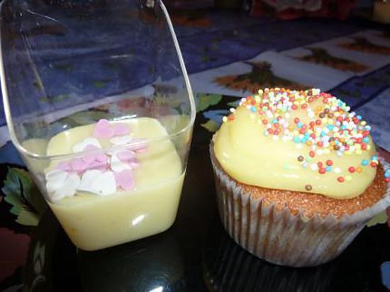recette Cupcakes au citron et sa sauce