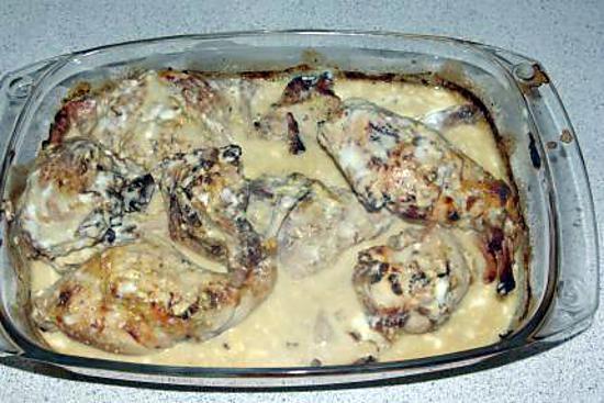 recette de lapin à la moutarde(au four)