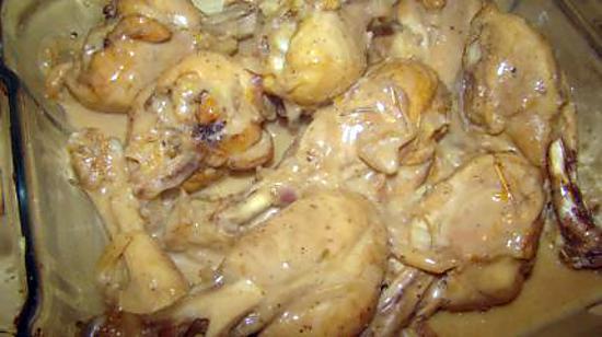 recette Poulet marocain au citron et à l'origan