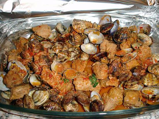 recette Carne Alentejana (recette Portugaise)