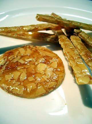 recette Réaliser de la nougatine à base de sucre cuit...