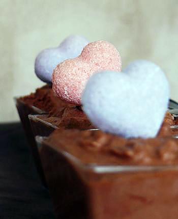 Recette de mousse au chocolat noir et caramel recette de for Mousse au chocolat pierre herme