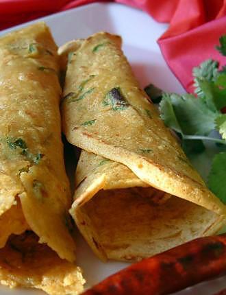 recette 2 recettes de crêpes végétaliennes indiennes