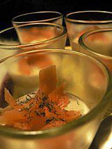 recette Verrines de saumon à la Ricotta