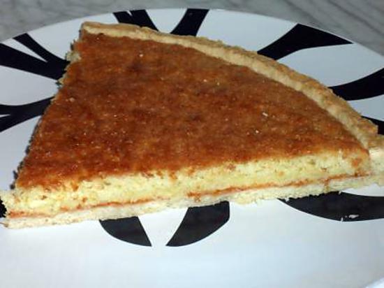 recette TARTE COCO-CONFITURE