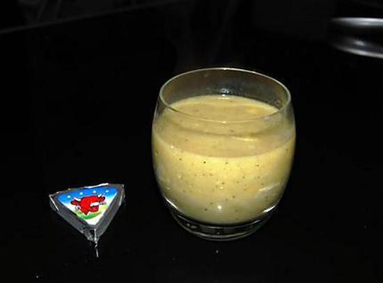 recette Velouté de Courgettes à la Vache qui Rit