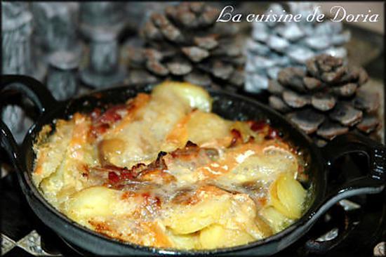 Recette de tartiflette au reblochon - Temps de cuisson tartiflette ...