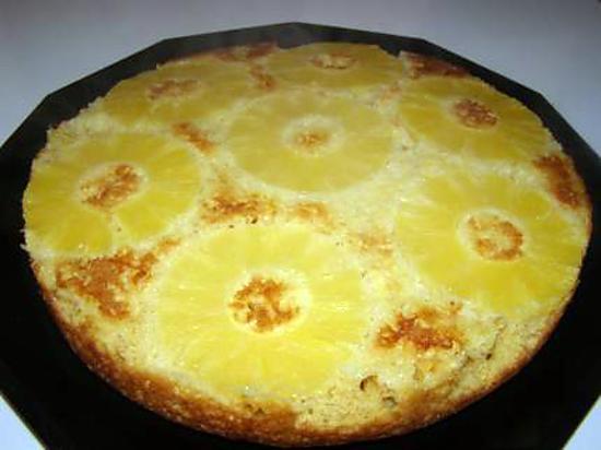 recette gateau a l'ananas