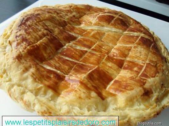 recette GALETTE A LA FRANGIPANE
