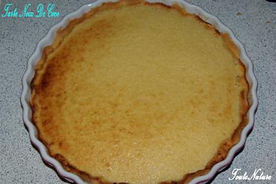 tarte a la noix de coco et a la cannelle