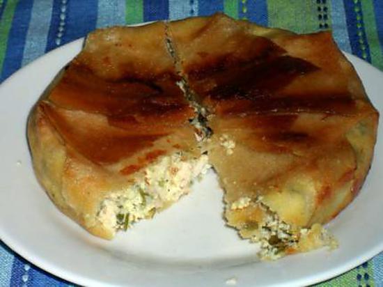 recette Bricks au poulet et au fromage