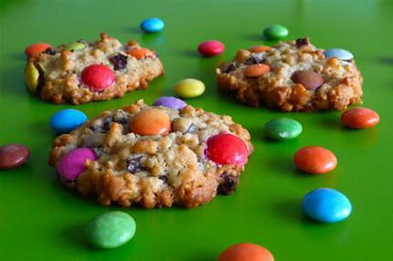 recette Cookies aux smarties