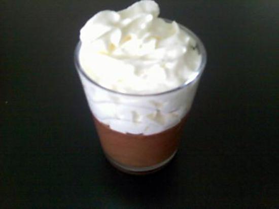 recette Mousse au chocolat praliné et chantilly
