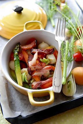 recette Cocotte de légumes croquants d'Alain Ducasse
