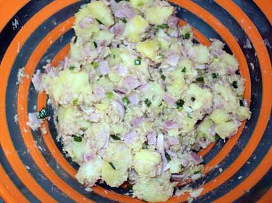 Recette De Salade Pomme De Terre Au Jambon Thon Et A La Ciboulette