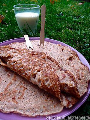 recette Recette ayurvédique: crêpe de blé à la rose