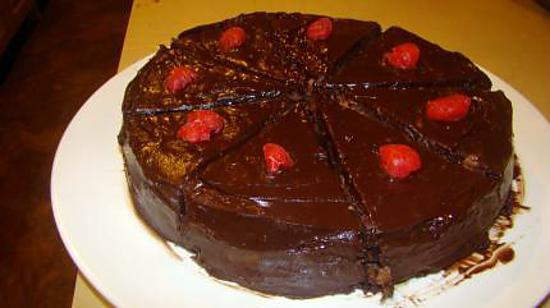 recette Gâteau aux griottes