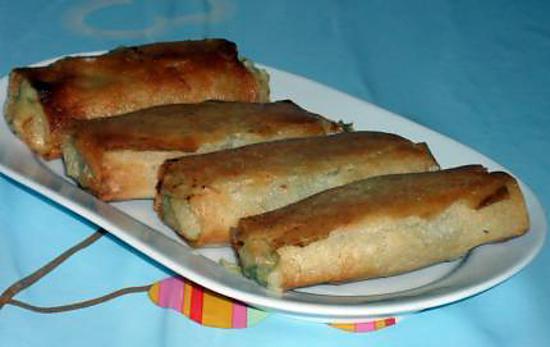 recette Bourek au poisson
