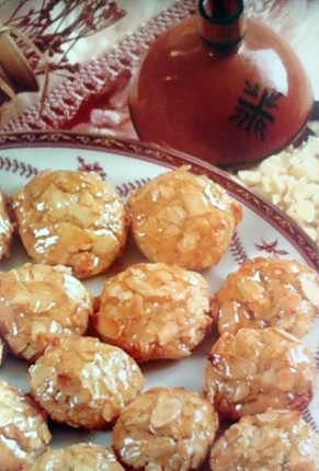 recette Ghribas aux amandes(Pâtisserie marocaine)