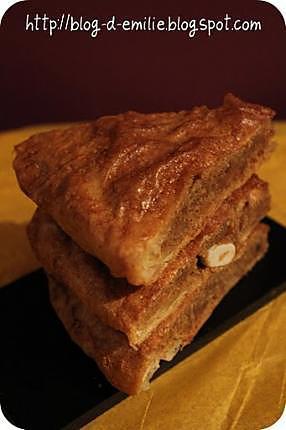 recette Galette des rois allégée au pain d'épice