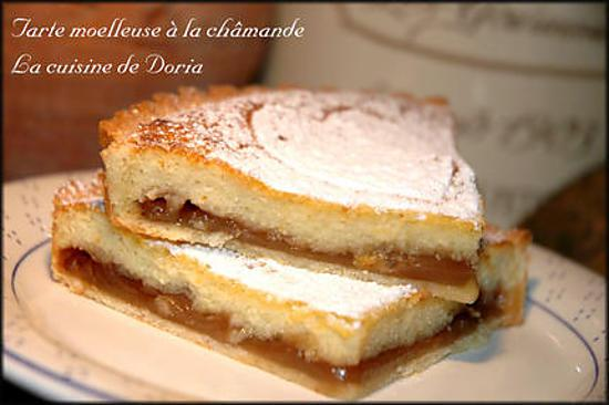 Recette de tarte moelleuse la ch mande - Recette tarte salee originale ...