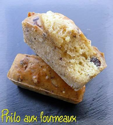 recette Mini-cakes aux noisettes & au Comté