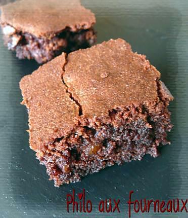 recette Brownies aux noix de pécan & sirop d'érable