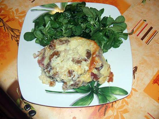 recette * croutes  savoyardes *
