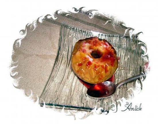 recette Pommes au four à la gelée de coing