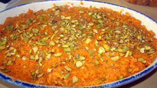 recette de halwa aux carottes recette indienne. Black Bedroom Furniture Sets. Home Design Ideas