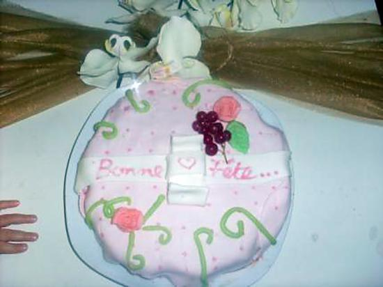 Recette de gateaux decor pate a sucre f te de m re for Decoration gateau pate a sucre