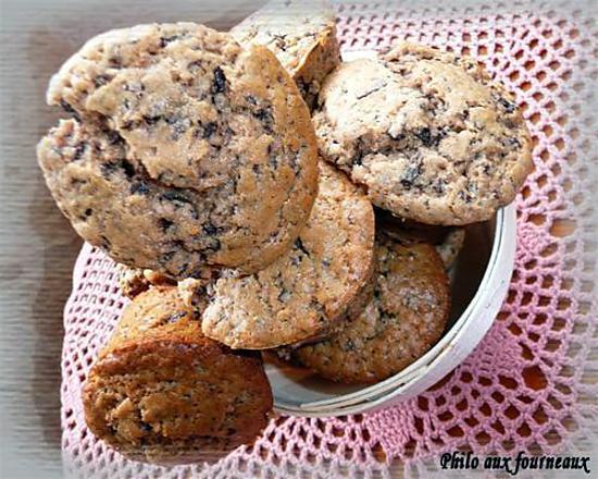 recette Muffins à la farine de châtaigne, à la fève Tonka & au chocolat