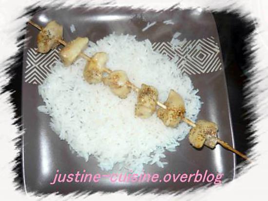 recette Yakitori de poulet