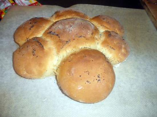 recette pain en couronne