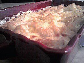 recette Gratin de choux fleur au gorgonzola