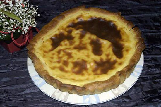recette la tarte au flan patissier