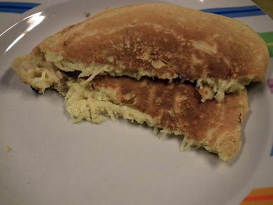recette Pan cakes aux Courgettes et Cury