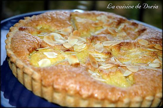 recette de tarte aux poires et aux amandes. Black Bedroom Furniture Sets. Home Design Ideas