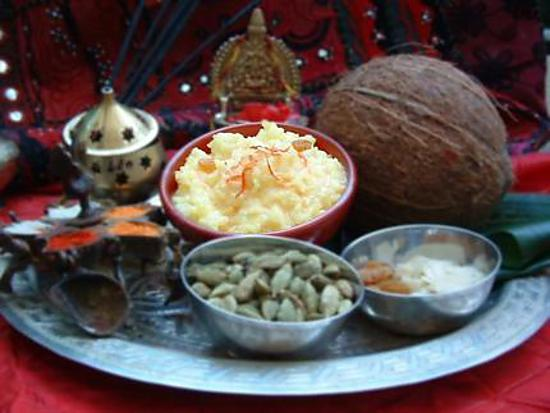 recette Recette indienne le Kheer
