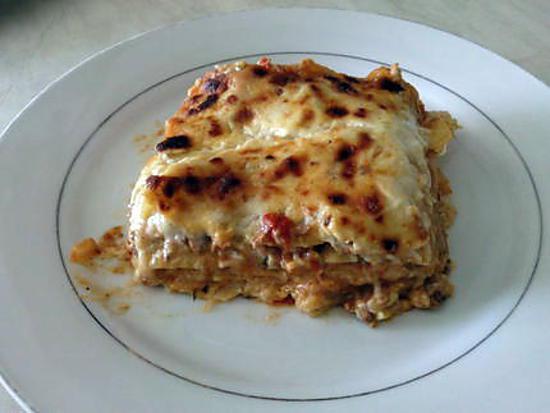 recette de lasagne la bolognaise bien cr meuse. Black Bedroom Furniture Sets. Home Design Ideas