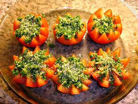 recette Mes tomates provençale