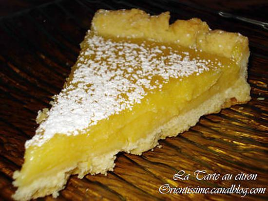 recette de la tarte au citron delicieuse par sabrin d 39 orientissime. Black Bedroom Furniture Sets. Home Design Ideas