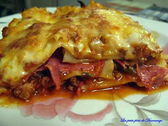 recette Lasagne au 10 épices