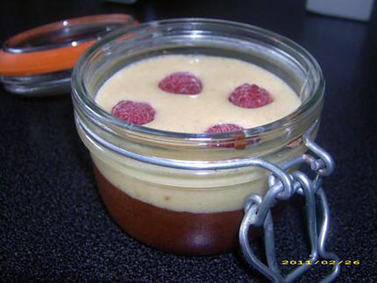 recette duo de mousse au chocolat