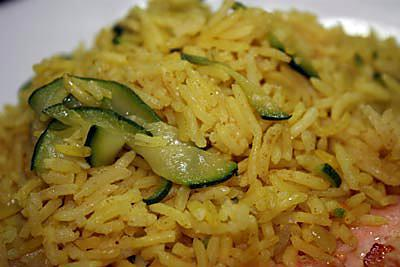 """Résultat de recherche d'images pour """"Riz pilaf au curry et aux courgettes"""""""