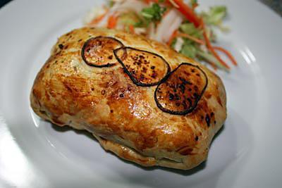 recette Chausson au poulet